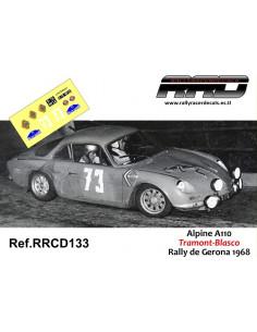 Alpine A110 Tramont-Blasco Rally de Gerona 1968