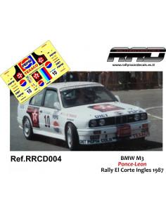 BMW M3 Ponce-Leon Rally El Corte Ingles 1987