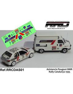 Asistencia BMR Rally Catalunya 1995