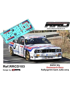 BMW M3 Domenech-Haro Rallysprint Sant Julia 2014