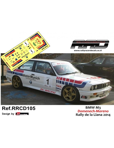 BMW M3 Domenech-Moreno Rally La Llana 2014