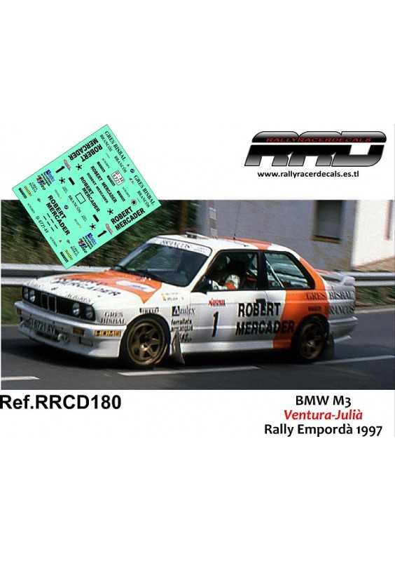 BMW M3 Ventura-Julia Rally Emporda 1997
