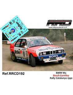 BMW M3 Bosch-Gormley Rally Catalunya 1990