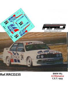 BMW M3 Villanueva C.E.T. 1993