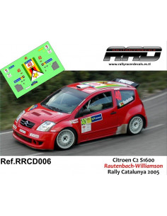Citroen C2 S1600 Rautenbach-Williamson Rally Catalunya 2005