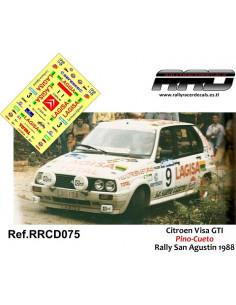 Citroen Visa GTI Pino-Cueto Rally San Agustin 1988