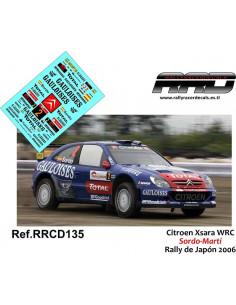 Citroen Xsara WRC Sordo-Marti Rally de Japon 2006