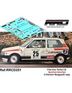Fiat Uno Turbo Sanchez-Sanchez Criterium Bergueda 1995