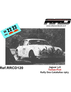 Jaguar 3.8 Tomas-Prat Rally Dos Cataluñas 1963