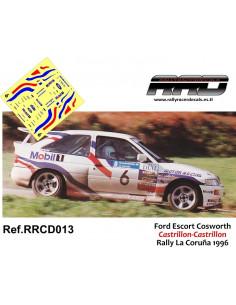 Ford Escort Cosworth Castrillon-Castrillon Rally La Coruña 1996
