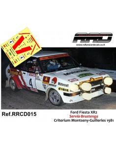 Ford Fiesta XR2 Servia-Brustenga Criterium Montseny-Guilleries 1981