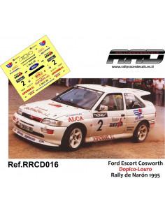 Ford Escort Cosworth Dopico-Louro Rally Naron 1995