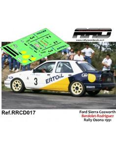 Ford Sierra Cosworth Bardolet-Rodriguez Rally Osona 1991