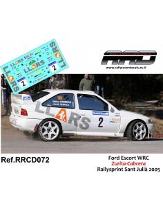 Ford Escort WRC Zurita-Cabrera Rallysprint Sant Julia 2005