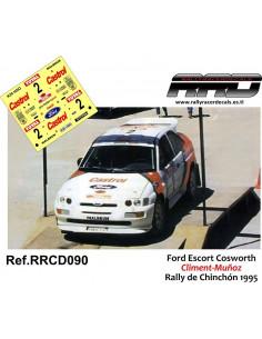 Ford Escort Cosworth Climent-Muñoz Rally de Chinchon 1995