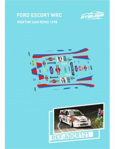 Ford Escort WRC Martini SanRemo 1998