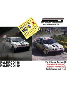 Ford Sierra Cosworth Bardolet-Autet Rally Catalunya 1992