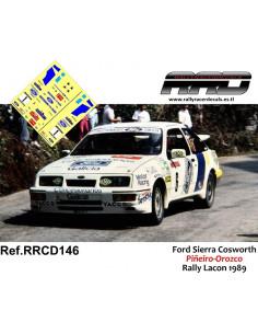 Ford Sierra Cosworth Piñeiro-Orozco Rally Lacon 1989