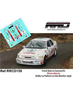 Ford Sierra Cosworth Perez-Garcia Rally La Palma Isla Bonita 1996