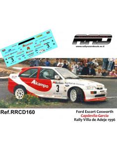 Ford Escort Cosworth Capdevila-Garcia Rally Villa de Adeje 1996