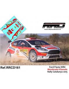 Ford Fiesta R5 Membrado-Vilamala Rally Catalunya 2015