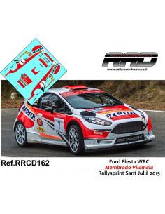 Ford Fiesta R5 Membrado-Vilamala Rallysprint Sant Julia 2015