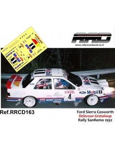 Ford Sierra Cosworth Delecour-Grataloup Rally Sanremo 1992