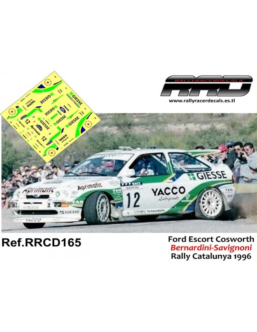 Ford Escort Cosworth Bernardini-Savignoni Rally Catalunya 1996