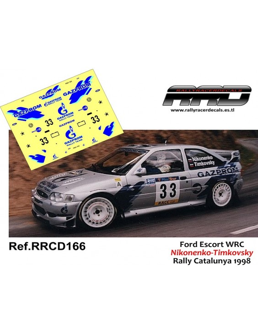 Ford Escort WRC Nikonenko-Timkovsky Rally Catalunya 1998