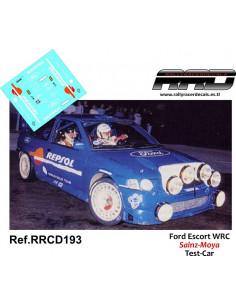 Ford Escort WRC Sainz-Moya Test Car