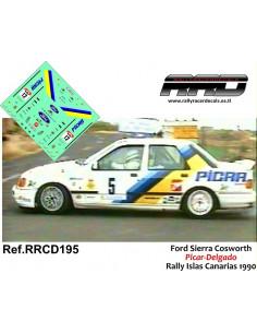 Ford Sierra Cosworth Picar-Delgado Rally Islas Canarias 1990