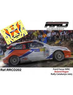Ford Focus WRC Boland-Regan Rally Catalunya 2005