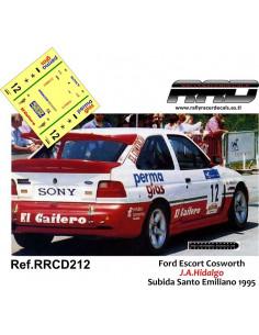 Ford Escort Cosworth Hidalgo Subida Santo Emiliano 1995