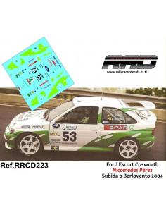 Ford Escort Cosworth Nicomedes Perez Subida a Barlovento 2004