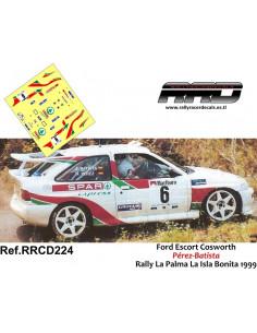 Ford Escort Cosworth Perez-Batista Rally La Palma La Isla Bonita 1999