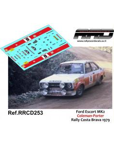 Ford Escort MK2 Coleman-Porter Rally Costa Brava 1979