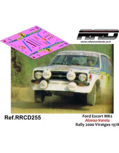 Ford Escort Mk2 Alonso-Varela Rally 2000 Viratges 1978