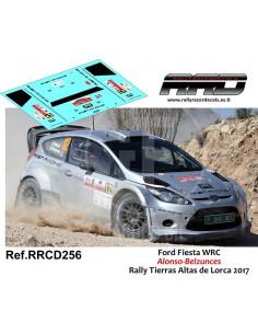 Ford Fiesta WRC Alonso-Belzunces Rally Tierras Altas de Lorca 2017
