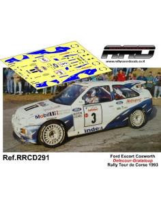Ford Escort Cosworth Delecour-Grataloup Rally Tour de Corse 1993
