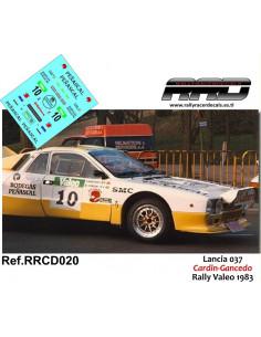 Lancia 037 Cardin-Gancedo Rally Valeo 83