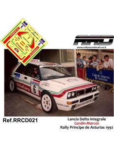 Lancia Delta Integrale Cardin-Marcos Rally Principe de Asturias 1992