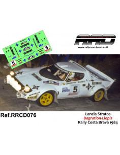 Lancia Stratos Bagration-Llopis Rally Costa Brava 1984