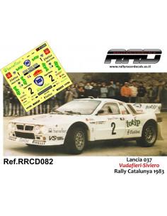 Lancia 037 Vudafieri-Siviero Rally Catalunya 1983