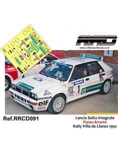 Lancia Delta Integrale Puras-Arrarte Rally Villa de Llanes 1992