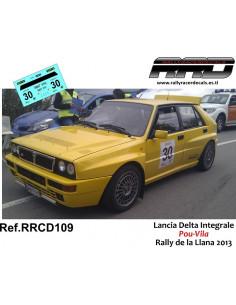 Lancia Delta Integrale Pou-Vila Rally de la Llana 2013