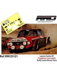 Lancia Fulvia Pregliasco-Garzoglio Rally Costa Brava 1974