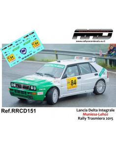 Lancia Delta Integrale Muniesa-Lahoz Rally Trasmiera 2015
