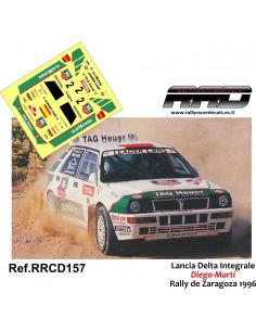 Lancia Delta Integrale Diego-Marti Rally Zaragoza 1996