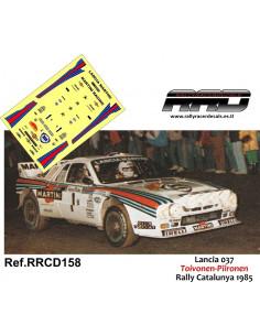 Lancia 037 Toivonen-Piironen Rally Catalunya 1985