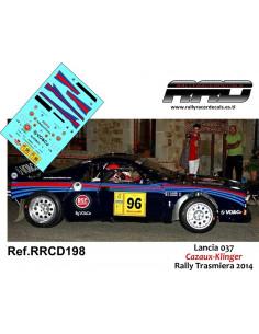 Lancia 037 Cazaux-Klinger Rally Trasmiera 2014